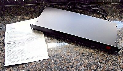 Furman RackRider RR-15NL Power Conditioner & Light Module TESTED w/ Info
