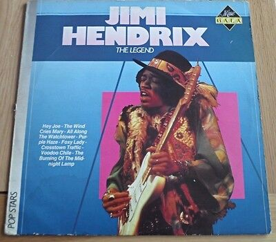 Jimi Hendrix Experience - The Legend - Vinyl Lp - Music Gala - 1986 Netherlands