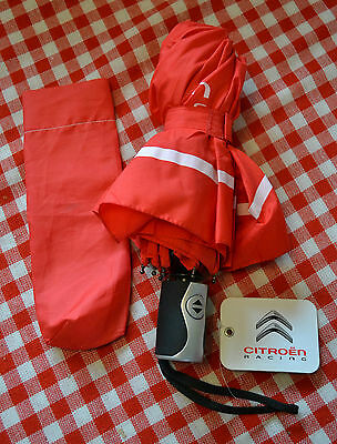Citroen Racing Wrc Small Compact Fully Automatic Umbrella New L@@k!