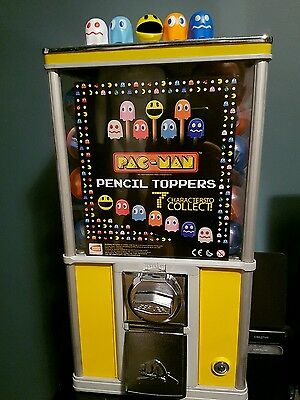 Northern Beaver NB20 toy vending machine with Pacman and Sonic capsules mancave