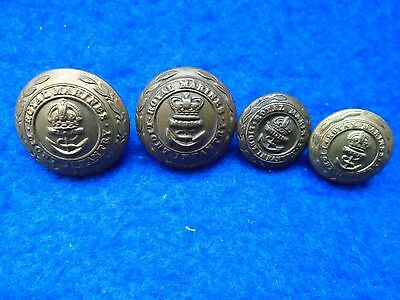 Victorian Royal Marines Light Infantry 23Mm Tunic/coatee Button Player Brothers