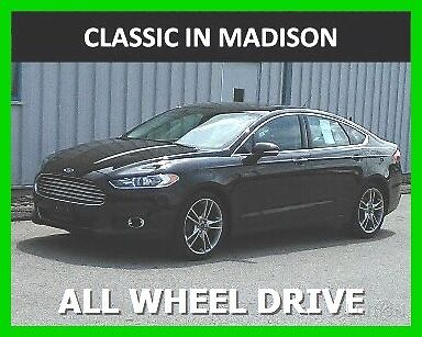 2015 Ford Fusion TITANIU 2015 FORD FUSION TITANIUM * AUTOMATIC * ALL WHEEL DRIVE * SEDAN