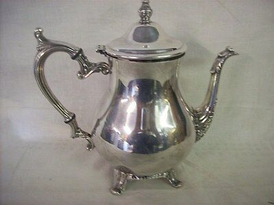 "Silverplate Tea or Coffee Pitcher 9"" tall"