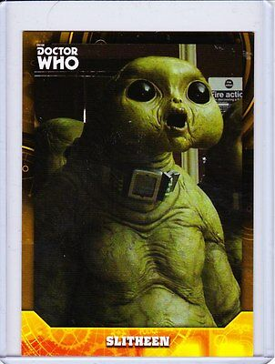 Doctor Who Signature Series Trading Cards Gold Parallel Base Card Selection