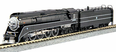 Kato N Scale GS-4 Steam Locomotive DCC Ready BNSF Excursion Black #4449 1260312
