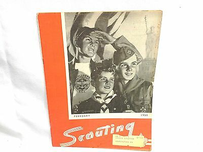 Nice 1950 Feburary May Boy Scout  Scouting Magazine