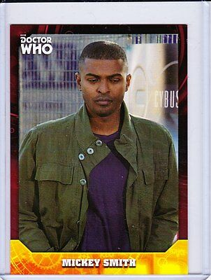 Doctor Who Signature Series Trading Cards Red Parallel Base Card Selection