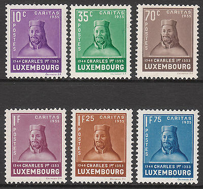 Luxembourg 1935  Pristine Mnh/muh Mint Child Welfare Stamp Set