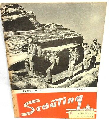 Nice 1950  June / July Boy Scout  Scouting Magazine