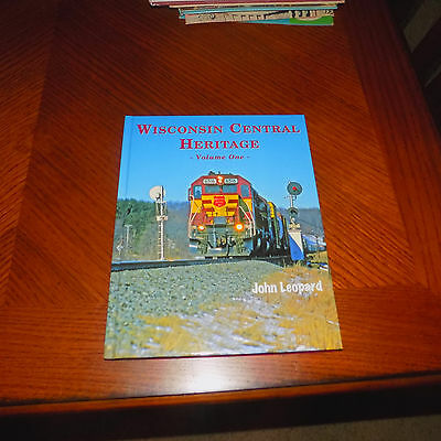 WISCONSIN CENTRAL HERITAGE VOL #1 130 PAGES of COLOR PHOTOS/PICS FREE SHIPPING