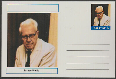 CINDERELLA - 4460  - BARNES WALLIS  on Fantasy Postal Stationery card