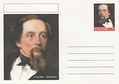 CINDERELLA - 4461 - CHARLES DICKENS on Fantasy Postal Stationery card