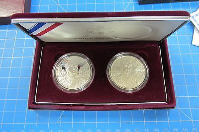 1999 Dolley Madison Two Coin Commemorative Set With Box And Coa