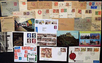 GREAT BRITAIN POSTAL HISTORY 1930s TO MODERN MANY BETTER