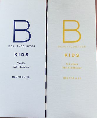 BeautyCounter Beauty Counter Kids shampoo  / conditioner Collection~New In Box