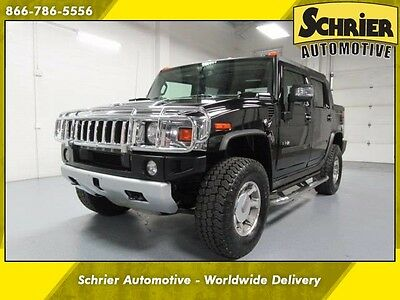 2008 Hummer H2  Hummer H2 SUT Truck Black Back Up Camera Tonneau Cover 4WD