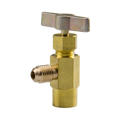 Interdynamics DV134 Brass Dispensing Valve, ACME-Threaded Can R134a Refrigerant