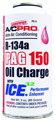 Interdynamics PC3, R134a PAG 150 High Viscosity Oil Charge With ICE 32 - 3oz
