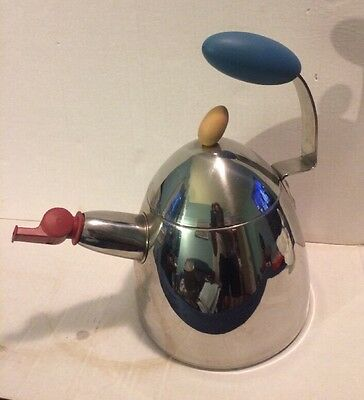 Michael Graves Stainless Steel Tea Kettle w/ Whistle Spout