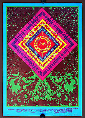 BIG BROTHER BLUE CHEER 1969 FD-55 Avalon Ballroom Concert Poster MOSCOSO