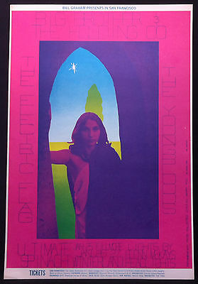 BG-104 BIG BROTHER HOLDING CO. YOUNGBLOODS 1968 Winterland Concert Poster 2nd