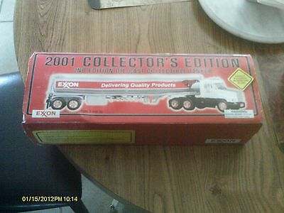 2001 Exxon 2Nd Edition Die-Cast Collectible Tanker Nib