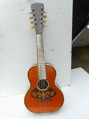 Wolfram Triumph Mandolin, Early 1900's, Aluminum Fingerboard, Rosewood, Clean