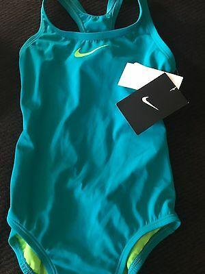 Nike Girls Swimsuit Girl's size 7 one piece swimsuit-NWT