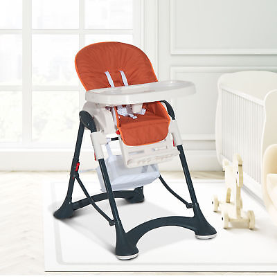 Baby Child Highchair Feeding Seat Compact Toddler Belt Foldable