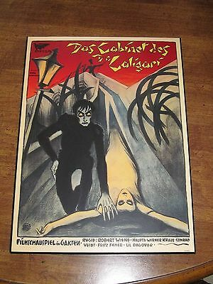 """The Cabinet of Dr. Caligari Horror Movie Plak-It Poster 10.5"""" x 14.5"""""""