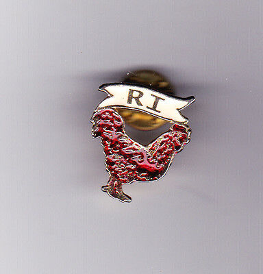 Rhode Island Red Chicken Tie Tack Type Pin