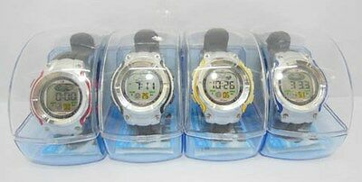 5 Black Analog Digital Waterproof Watch withCase wa-w68