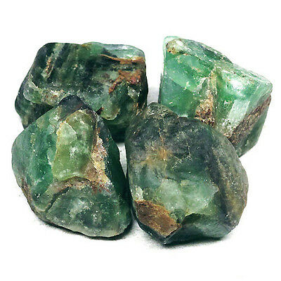 Natural 400.00 Ct./4 Pieces Green Fluorite Rough L4309