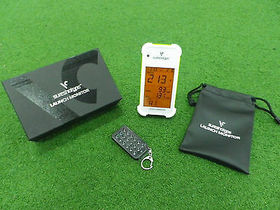 SURESHOT Portable LAUNCH MONITOR - Black - Perfect for Practice & Play