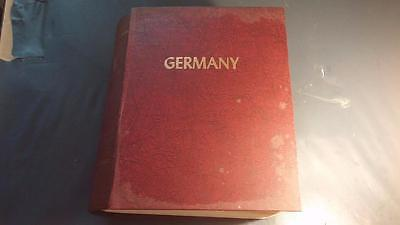 1¢ Wonder's ~ Germany Collection In Minkus Album 6000+ M&u Stamps All Areas Ll1