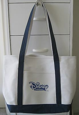 Disney Channel Official Promotional Heavy Canvas Large Tote Bag Brand New!!