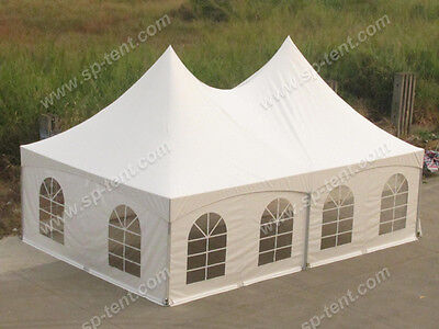 Great White Marquee 6m x 9m Heavy Duty PVC Wedding Party Tent