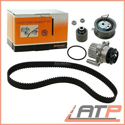 Contitech Timing Cam Belt Kit + Water Pump Vw Sharan 7M Touran 1T 1.9