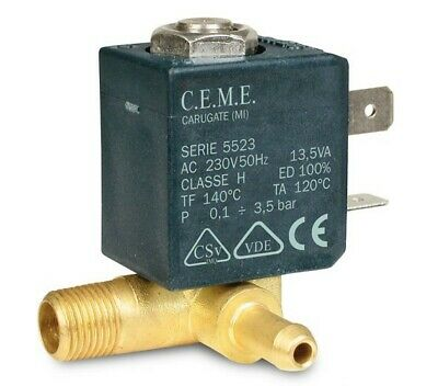 Magnetic Valve CEME 5522 230V for Delonghi Pac W 110 Eco W160A Air Conditioner