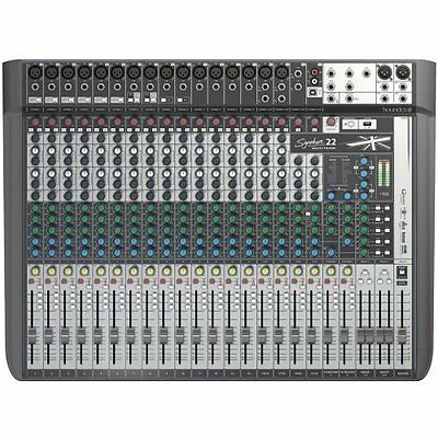 Soundcraft Signature 22 MTK Mischpult mit Audio-Interface/USB-Schnittstelle NEU!