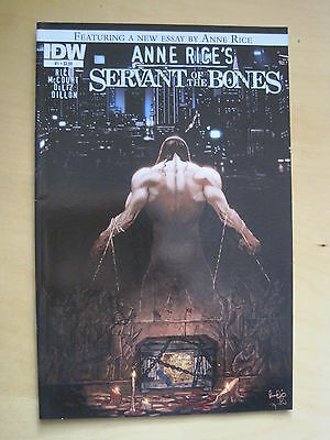 ANNE RICE 's SERVANT of the BONES #1 by RICE, McCOURT, DeLIZ & DILLON. IDW. 2010