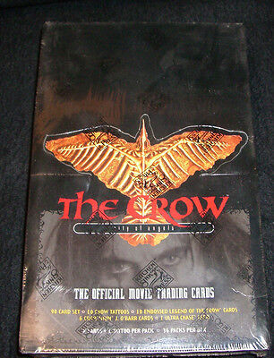 The Crow Trading Cards Sealed Box City Of Angels