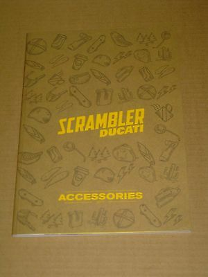 2017 Ducati Scrambler Accessories Motorcycle Catalog Mint! 82 Pages