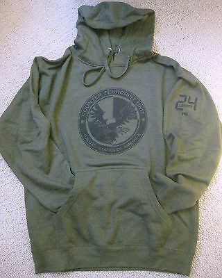 24: Legacy Fox Official Promotional Hoodie Sweatshirt Large + Photo Brand New!!