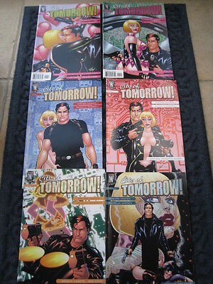 CITY OF TOMORROW - COMPLETE SET of 6 by HOWARD CHAYKIN & MADSEN.MATURE READ.2005