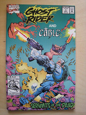 """GHOST RIDER & CABLE : """"SERVANTS of the DEAD"""" GIANT SIZE ONE-SHOT"""