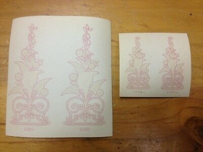 Vintage Original Malvern Star Paper Wash Decals Bike Bicycle Genuine