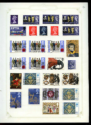 GB Album Page Of Stamps #V5189