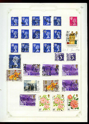 GB Album Page Of Stamps #V5187