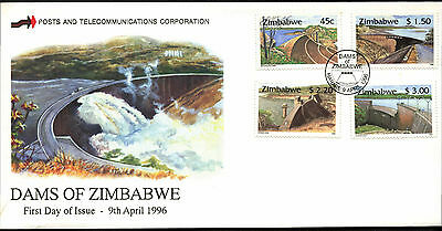 Zimbabwe 1996 Dams FDC First Day Cover #C42103
